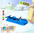 Children outdoor unpowered skiing car