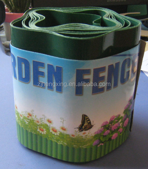 Durable Steel Corrugated garden lawn edging metal lawn fence
