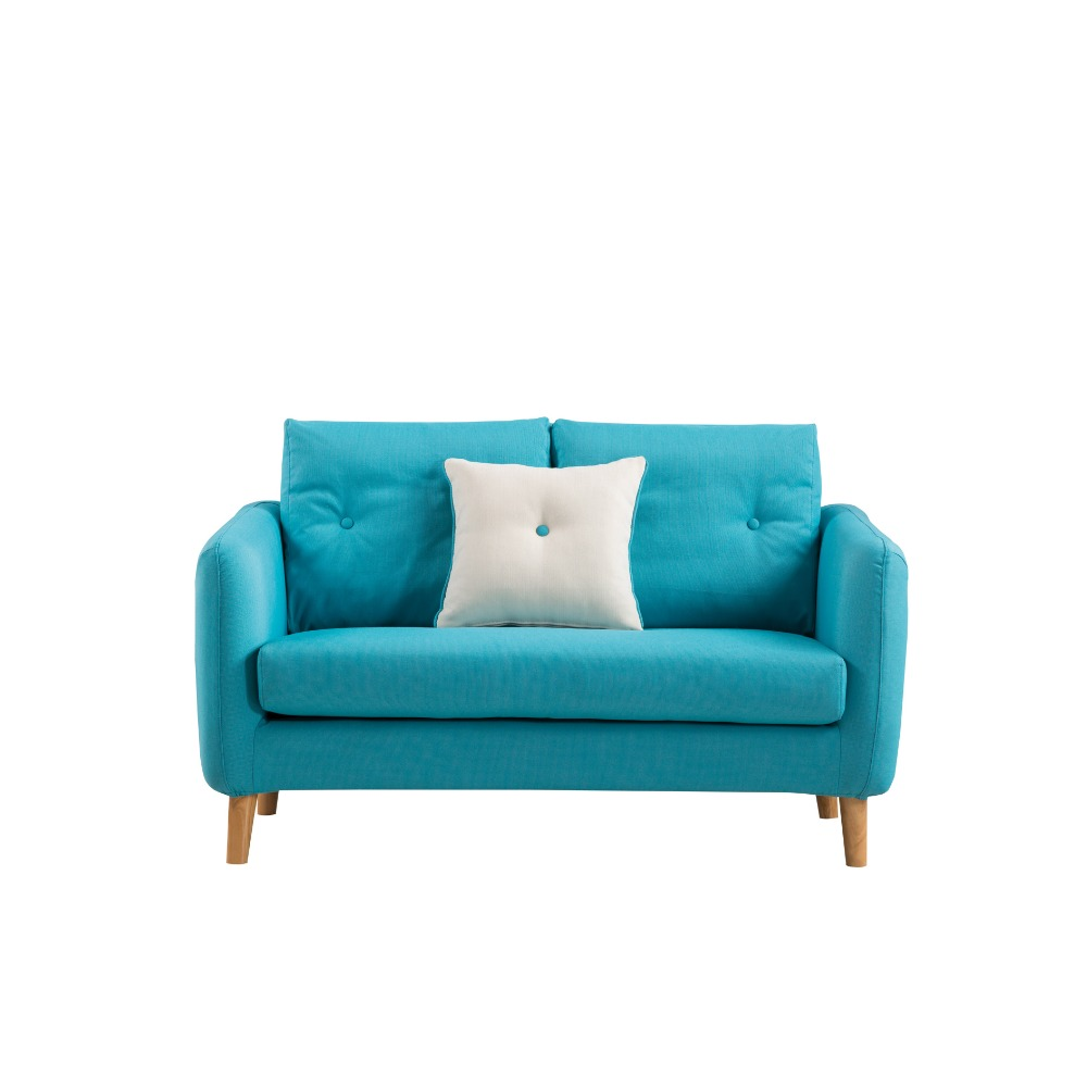 2017 Mordern scandinavian fabric navy blue <strong>sofa</strong> on living room