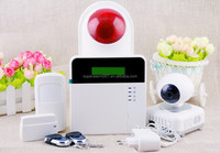 wireless security systems remote two-way intercom IOS/ANDROID app gsm wireless home burglar security alarm