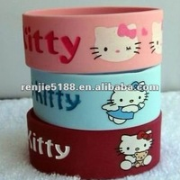 25mm Silicone Bracelets With Custom Design