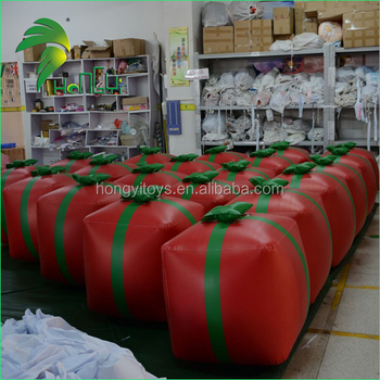 Wholesale Mini PVC Inflatable Gift Box Replica / Air Blowen Inflatable Christmas Decor Present Box