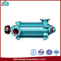 2016 New ZHONGDA MD Type Horizontal Multistage Wearable Centrifugal 110kw Water Pump/Centrifugal Pump Parts