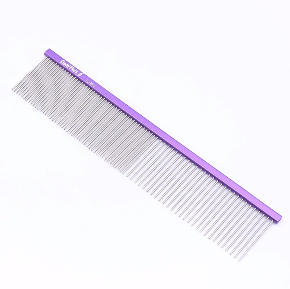 Pet lightweight comb for dog and cat size M