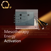 mini electroporation electro-osmosis no needle mesotherapy solution beauty machine for skin whitening