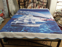 3d printed polyester/cotton quilt
