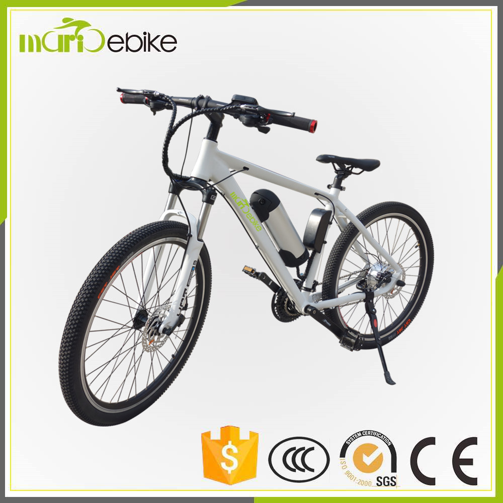 250w electric bicycle motor pedal assistant motorized bike with 36v 9ah water bottle battery