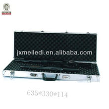 High Quality Silver Aluminum Gun Case with digit combination lock