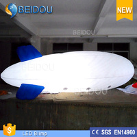 Cheap Custom Giant Outdoor LED Lighted Advertising Helium Airship RC Inflatable Blimp for Sale