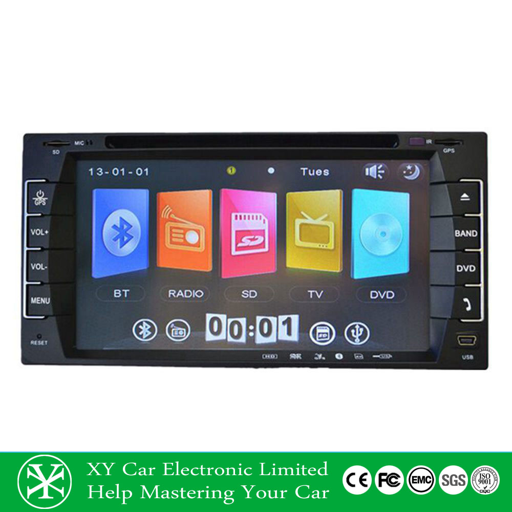 Car MP3/MP4/VCD/GPS TV DVD player car media player with touch screen/bluetooth XY-D8695