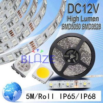 New LED Christmas ropelight 12V RGB SMD5050 waterproof led strip light 120leds/m flexible led strip