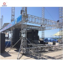 Certificate event Aluminium bolt stage global truss/mini lighting truss roof trusses