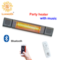 Quartz Low Glare Patio Outdoor Electric Infrared Wall Mounted IR Heater