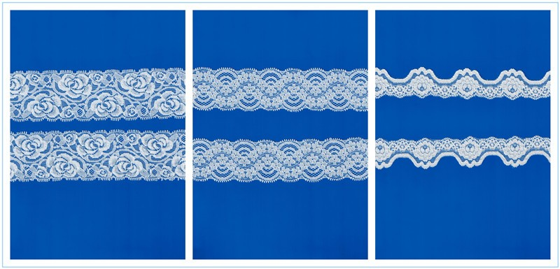 Hongtai wholesale lady garment eyelash cord lace fabric fancy lace fabric in China