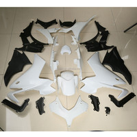 ABS Fairing Cowl Kit Bodywork For Honda CBR500R CBR 500 R 13 14 Unpainted White