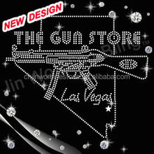hot fix Rhinestone gun iron on custom transfer design for clothing 2-22 6