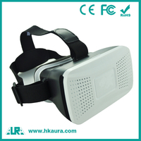 High quality android vr 3d glasses for iPhone android 4.0 ~ 6.5 inch mobile phone