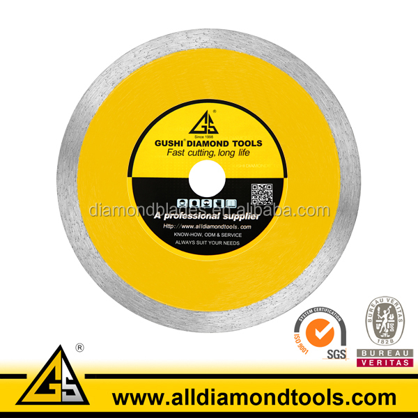 Yellow Color Diamond Round 7 Inch Tile Saw Blade