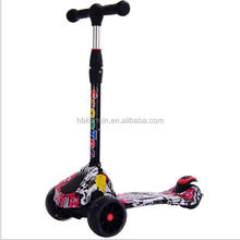 High quality mini kick scooter sale / baby toys kid scooter with adjustable bar / 2 wheel kick scooter with PU wheels