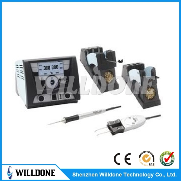 soldering station Weller WX2021 Large graphic LCD display, WXMT tweezers are ideal for soldering and desoldering small SMD parts