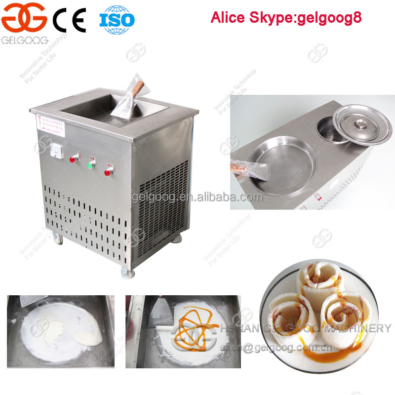 Henan Gelgoog Fried Sofe Ice Cream Machine With Cheap price