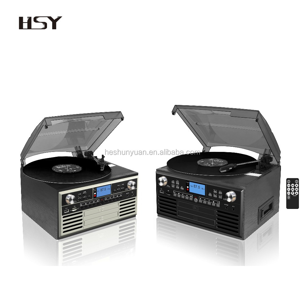 2017 best turntable phonograph usb sd bluetooth vinyl record player