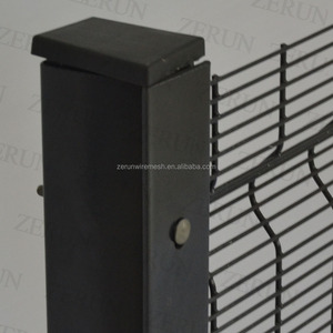 Manufacturing 358 High Security Anti Climb Welded Wire Mesh Fence with factory price