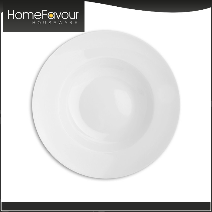 10 Years Experience Manufacturer Durable Homeware Turkish White Plate Sets
