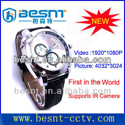 mini Watch USB Camera 1080p webcam camera with pc webcam function BS-S01