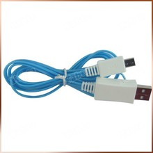 Blue LED Lighted USB Cable For Iphone Light 8 Pin Cable