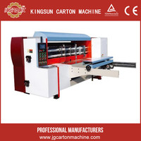 carton machinery semi auto.die cutting machine, corrugated carton rotary die cutter