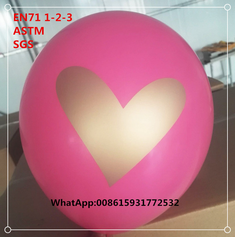 Wholesale customized helium printed balloon
