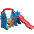 Hot sale swing children play set slide outdoor playground children