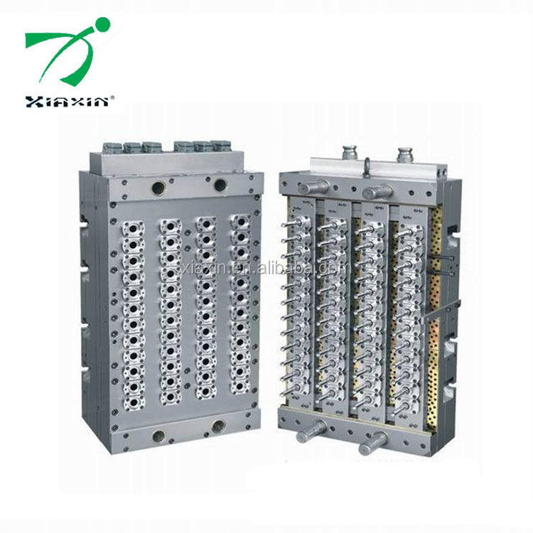 Shanghai supplier processing multi-cavities plastic bottle embryo injection mold