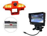Newest Factory price Backup third Brake light Camera for Renault Trafic,Combo,Vauxhall Vivaro + 7 inch monitor