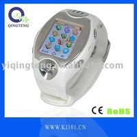 2013 hot sale LED back light watch mobile phone MW09