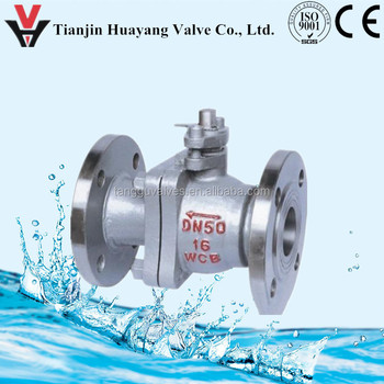 Hastelloy C or AISI 904L flanged ball valves (DIN 3357 strictly)