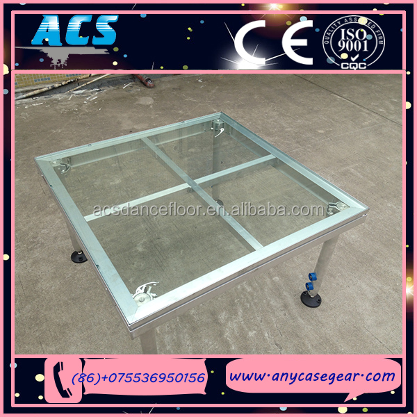 ACS Aluminium mobile stage,large entertainment stage