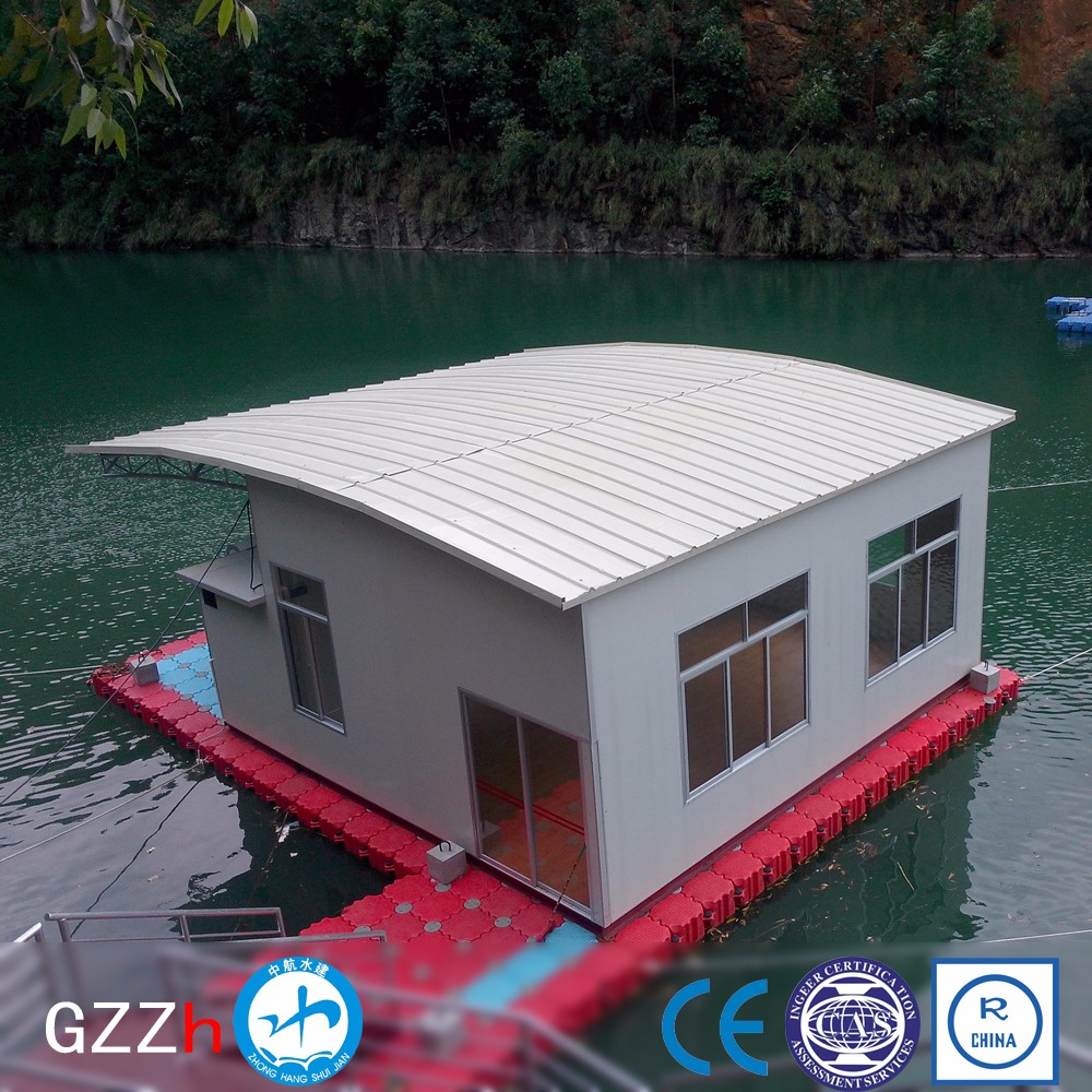 versatile HDPE private floating dock for villa for water sports