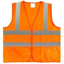 "ANSI Class 2 High Visibility Breakaway Safety Vest 2"" Reflective Strips - Meets ANSI/ISEA 107-2010 (Medium, Green)"