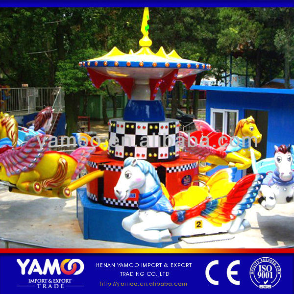 Alibaba fr! kids games flying horses amusement rides for sale