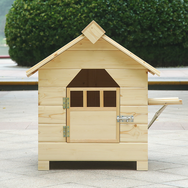 High quality new design outdoor dog house wood