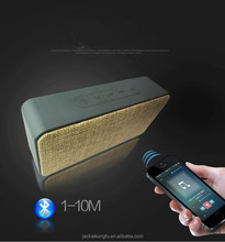 Bluetooth Portable Wireless Speaker Driver Powerful with Enhanced Bass, Built-in Mic(Luxurious Fabric and Classic)