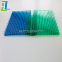 greenhouse roof panels 6mm polycarbonate hollow sheet solar panel roofing sheets