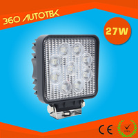 atv accessories 27W spot/flood LED working lights for heavy duty off road truck led work light magnetic base