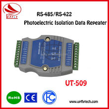 RS-485/RS-422 Photoelectric Isolation Data Repeater 4-line full duplex