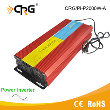 Chinese factory house system 24v dc to 220v ac 2000 watt power inverter