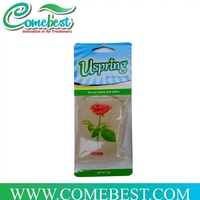 high quality hanging rose scented car air freshener sachet