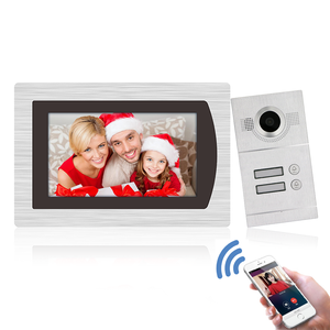 Intelligent TCP/IP Digital SIP Video Door Phone for Multi Apartment with Android/IOS APP for Remote Intercom