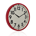Simple round fashion Clock Retro quartz clock